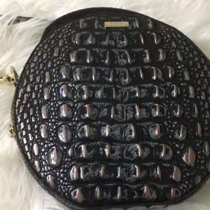 Brahmin crocodile crossbody handbag